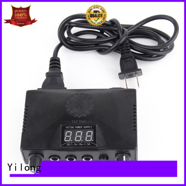 Yilong touch Power Supply company for tattoo equipment