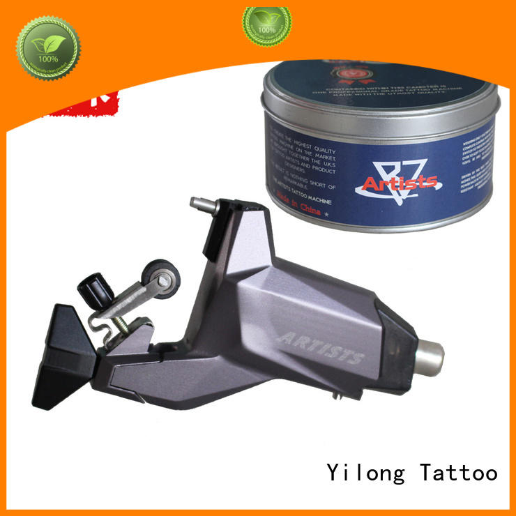 Yilong yellow custom rotary dragonfly tattoo machine for tattoo machine