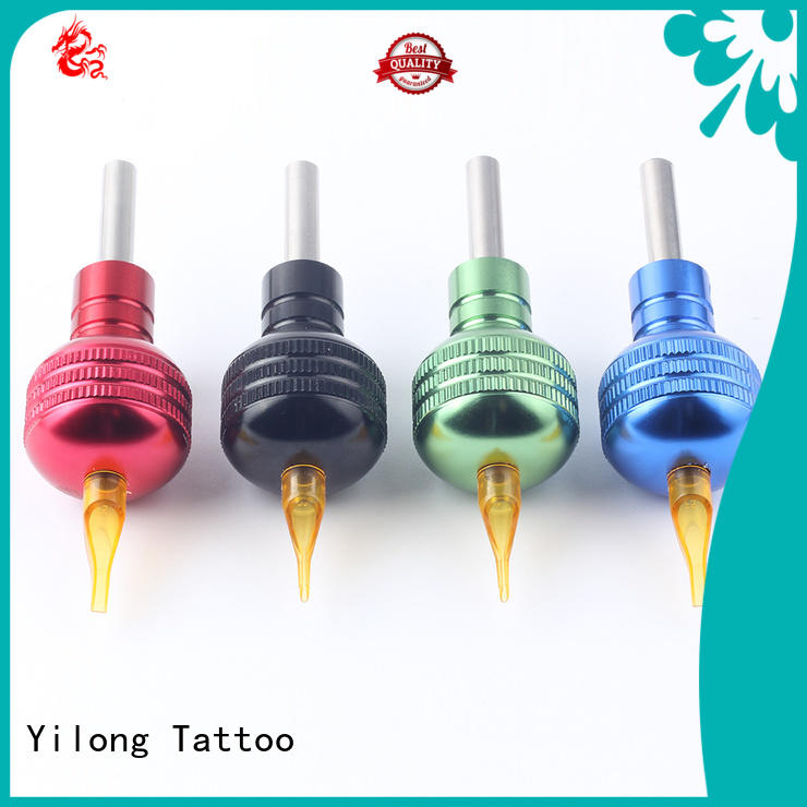 Yilong Latest aluminum tattoo grips manufacturers for tattoo machine grip