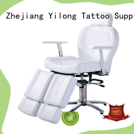 Yilong adjustable adjustable tattoo chair suppliers for tattoo machine