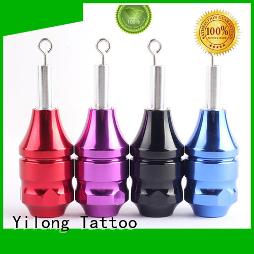 Yilong aluminium tattoo grips free delivery for tattoo machine grip