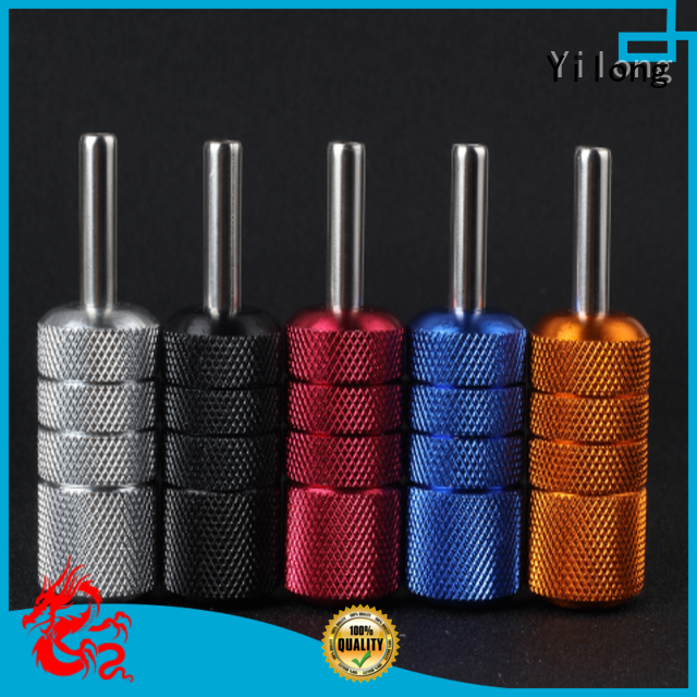 High-quality aluminum grips black supply for tattoo machine grip