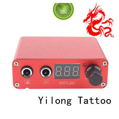 Yilong metal Power Supply supply for tattoo equipment