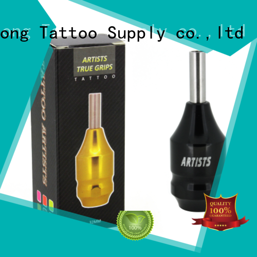 Yilong adjustable aluminum tattoo grips company for tattoo machine