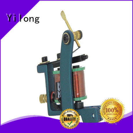 Yilong quiet quality tattoo machine company for tattoo machine