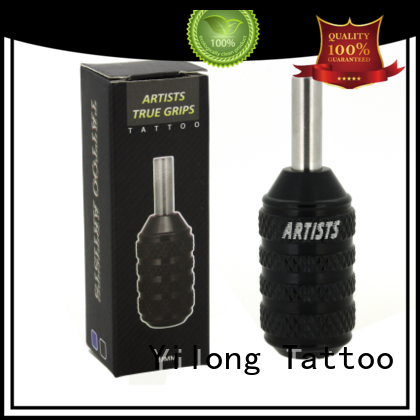 Custom aluminium tattoo grips black factory for tattoo