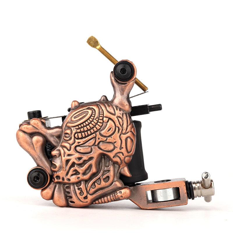 Best Selling Tattoo Machine Embossment Skull Tattoo Machine