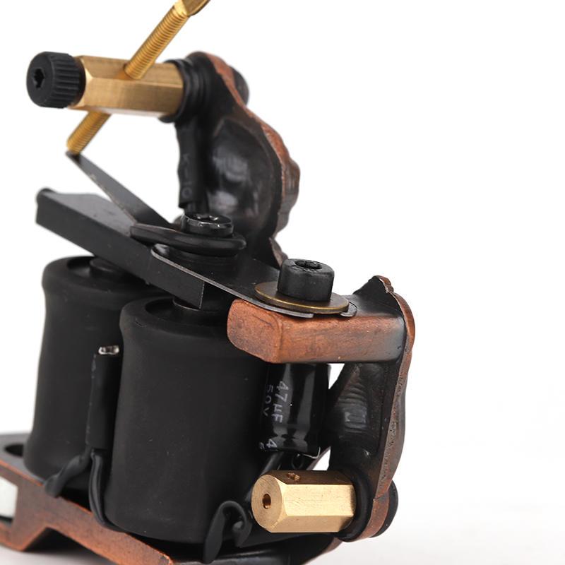 Starter Kit Tattoo Machine Embossment Skull Tattoo Machine 1101314-2
