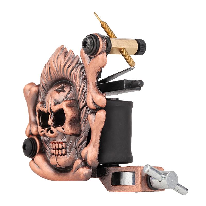 Embossment Skull Tattoo Machine Quiet Tattoo Machin 1101301-2