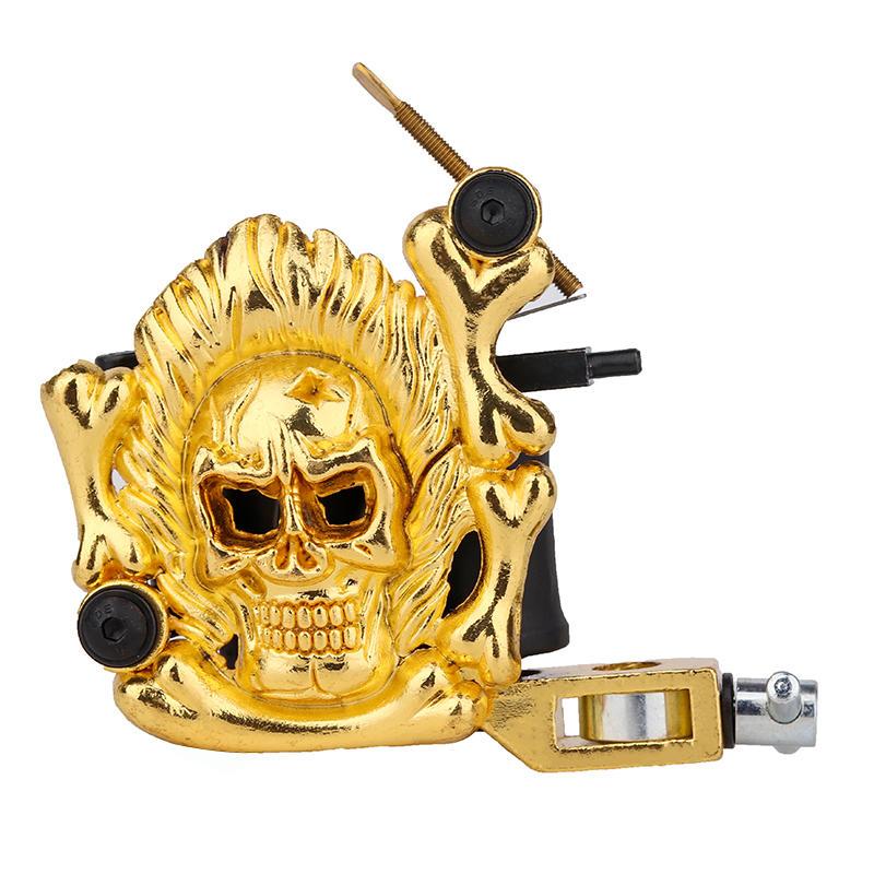 Embossment Skull Tattoo Machine China Tattoo Machine 1101301-3