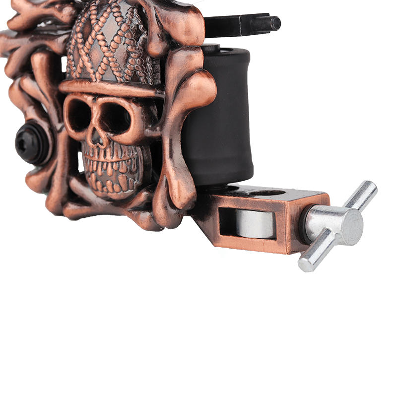 Embossment Skull Tattoo Machine Best Coil Tattoo Machines On The Market 1101302-2