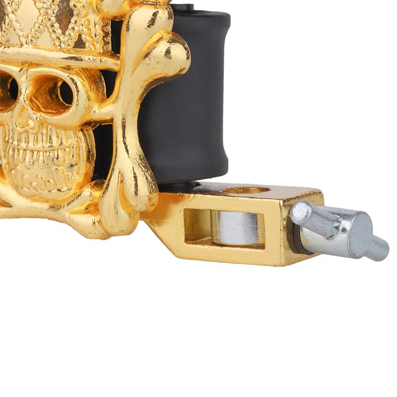Embossment Lightweight Tattoo Machine Skull Tattoo Machine 1101302-3