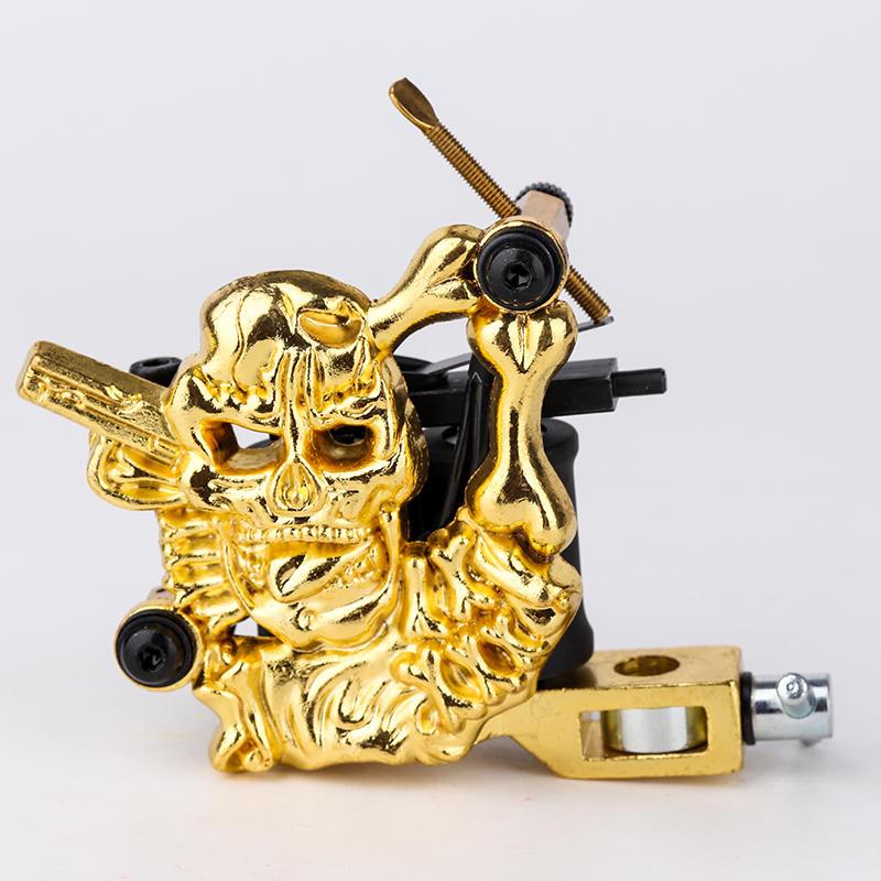 Entry Level Tattoo Machine Embossment Skull Tattoo Machine 1101304-3