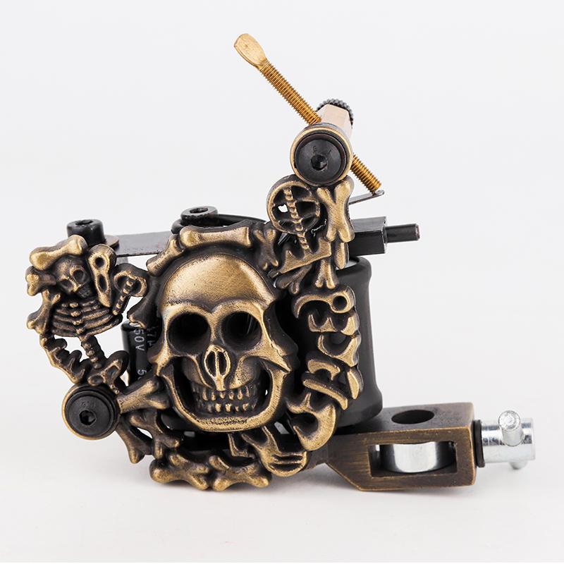 Embossment Skull New Tattoo Machine 1101305
