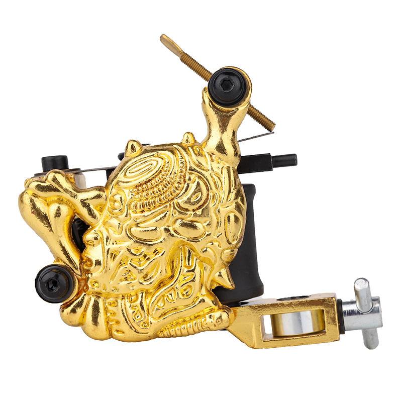 Embossment Skull Tattoo Machine Coil Tattoo Kit 1101306-3