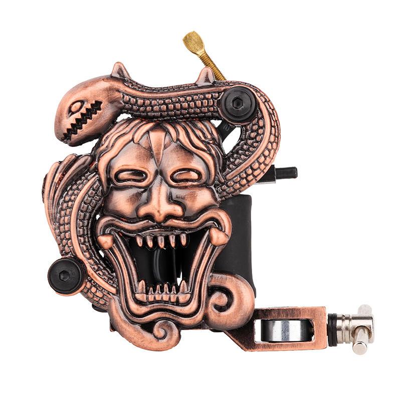 Embossment Complete Tattoo Machine Skull Tattoo Machine 1101310-2
