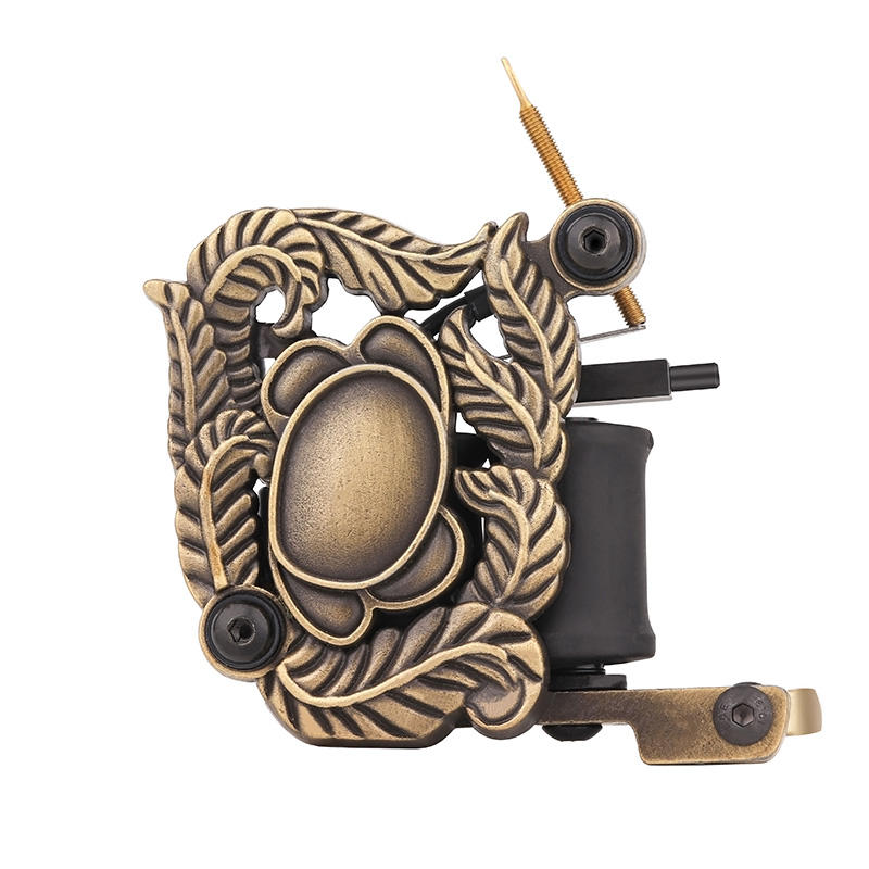 Best Coil Tattoo Machines Embossment Skull Tattoo Machine 1101324