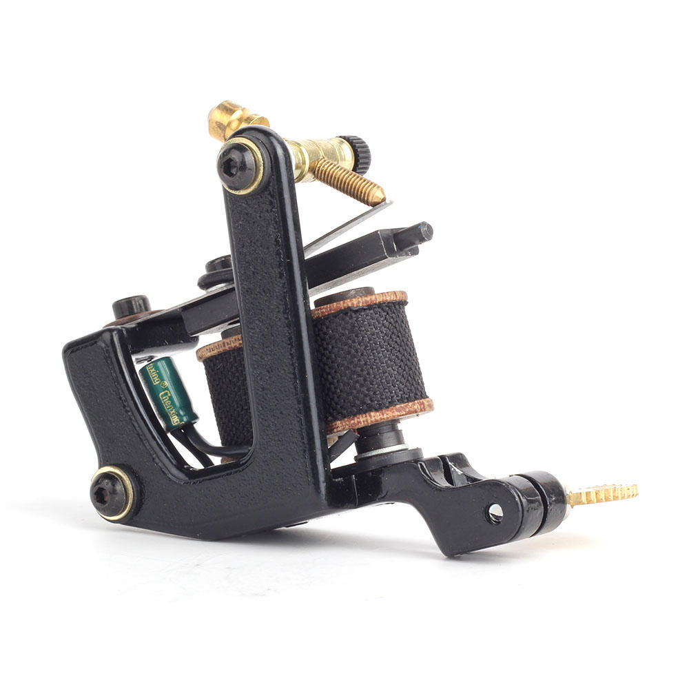 Professional Coil Tattoo Machines Handmade Coil Tattoo Machine 10 Wraps 1001448