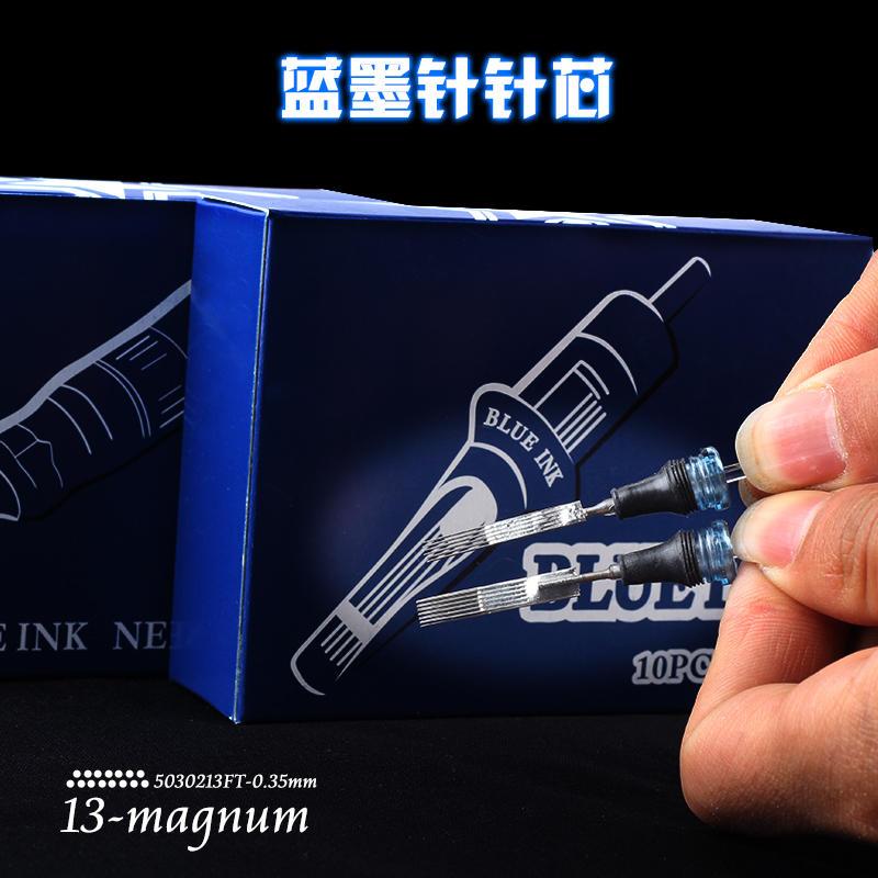 Professional Tattoo Needles Blue Ink Cartridge
