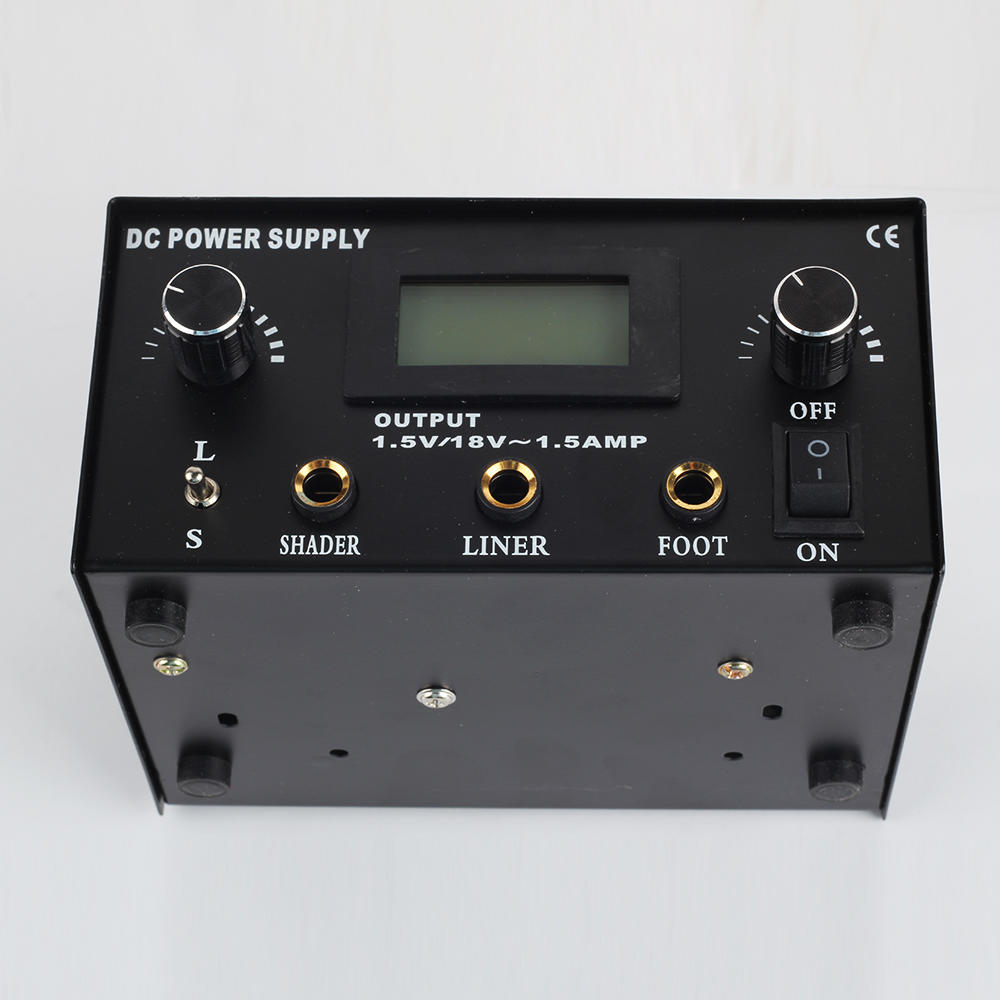 Dual Tattoo Power Supply 1600114