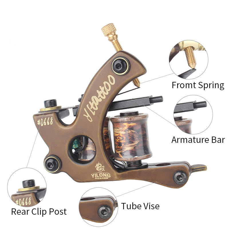 Copper Tattoo Machine Kit 3000305