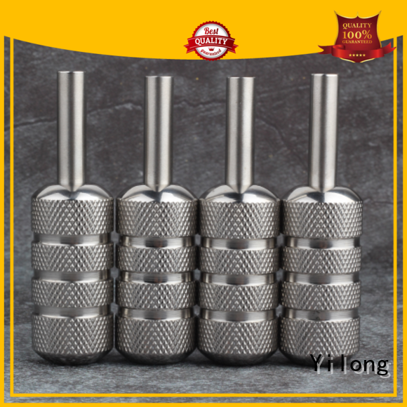 Yilong Top stainless steel grip for business for tattoo machine grip