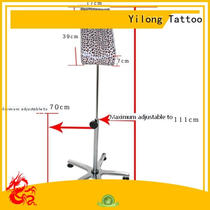 Yilong armres diy tattoo armrest for sale for tattoo machines