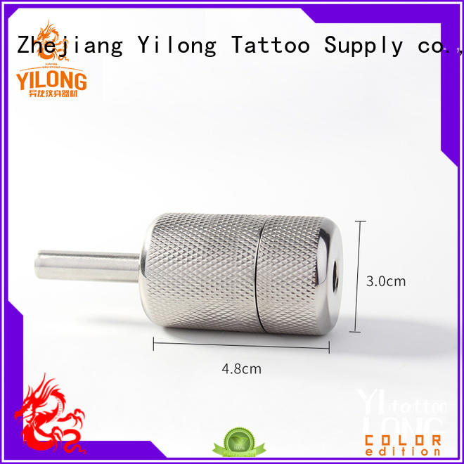 Wholesale stainless steel grip grips supply for tattoo machine grip