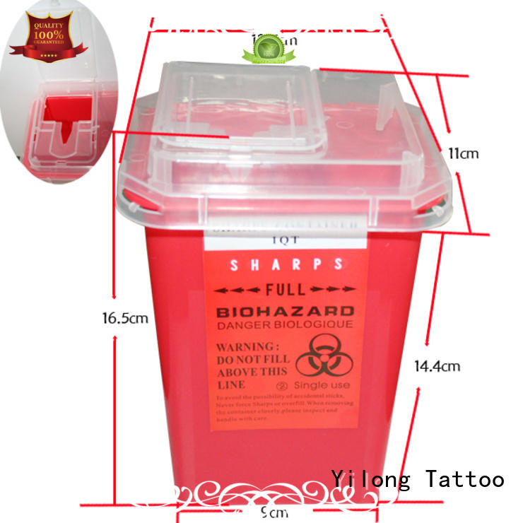 Yilong collection disposable tubes with needles supply for tattoo machine