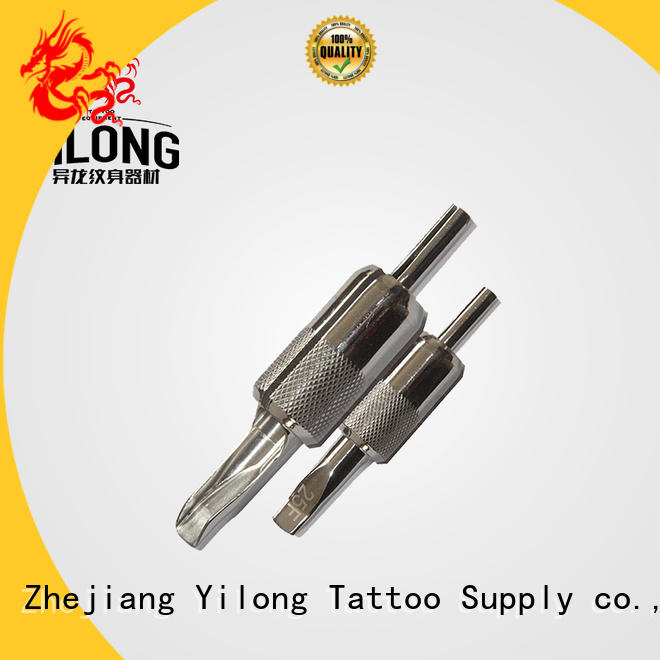 Yilong Top tattoo needle grip supply with autoclave