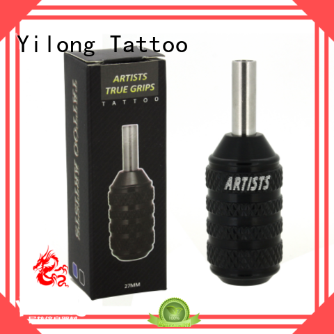 Yilong comfortable rubber tattoo grips for tattoo machine grip