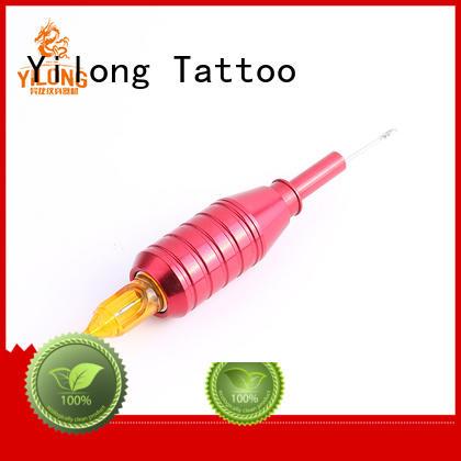 Yilong tattoo aluminium tattoo grips for sale for tattoo machine grip