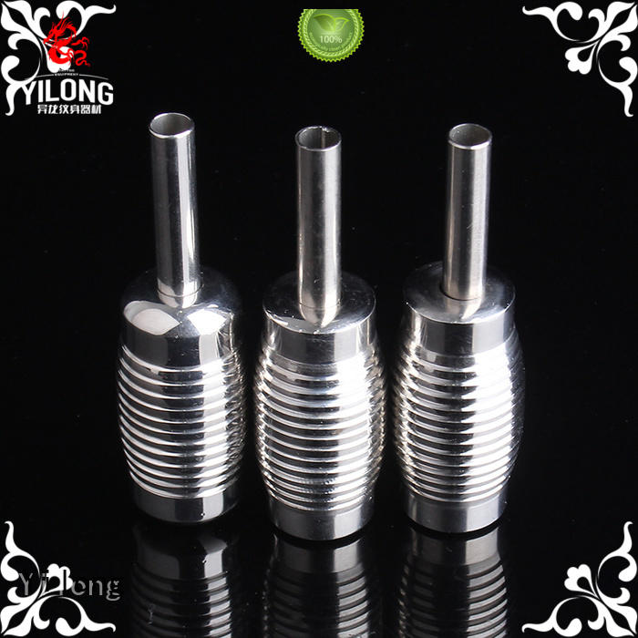 Yilong 20mm stainless steel tattoo grips suppliers for tattoo machine