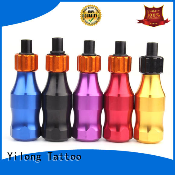 aluminum tattoo grips free sample for tattoo Yilong