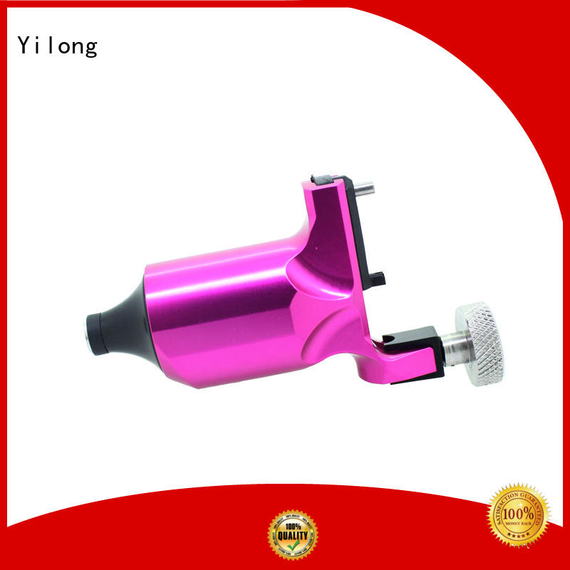 Yilong yellow custom rotary shader tattoo machine providers for coloring