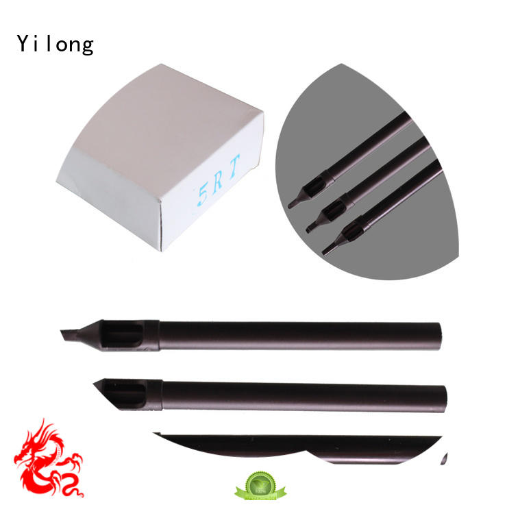 Yilong long stainless steel tip for business for tattoo machine