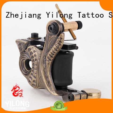 Yilong practice handmade coil tattoo machine suppliers for tattoo