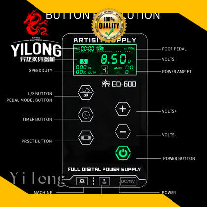 Yilong newly Power Supply supply for tattoo machine