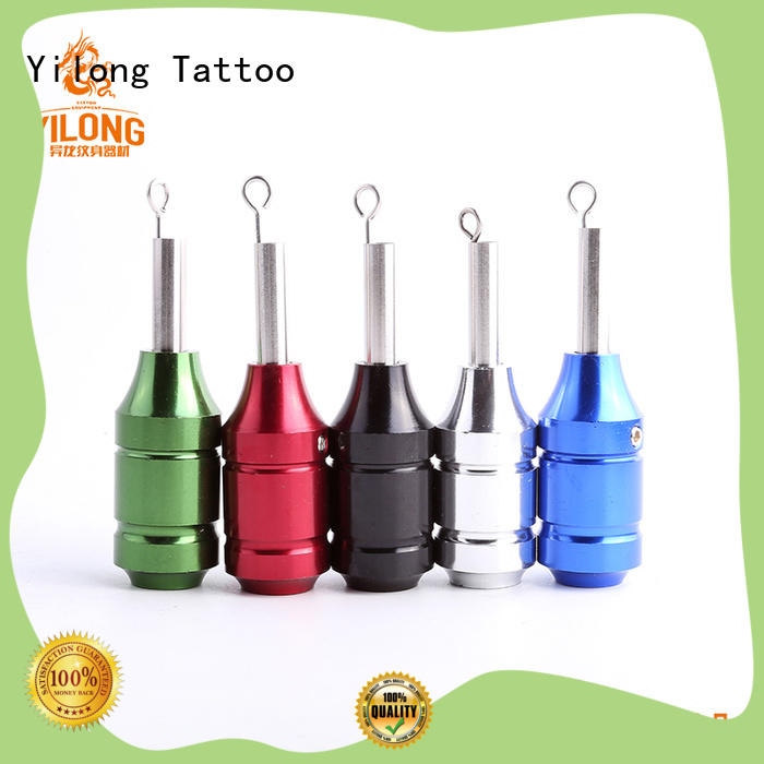 Yilong 35mm aluminium tattoo grips for sale for tattoo machine