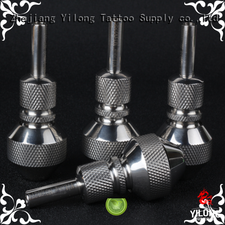 Yilong grips stainless steel tattoo grips company for tattoo machine