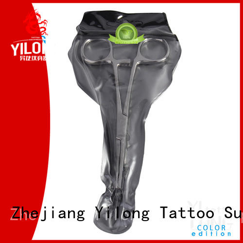 Yilong stainless independent pack piercing needle suppliers for tattoo machine grip