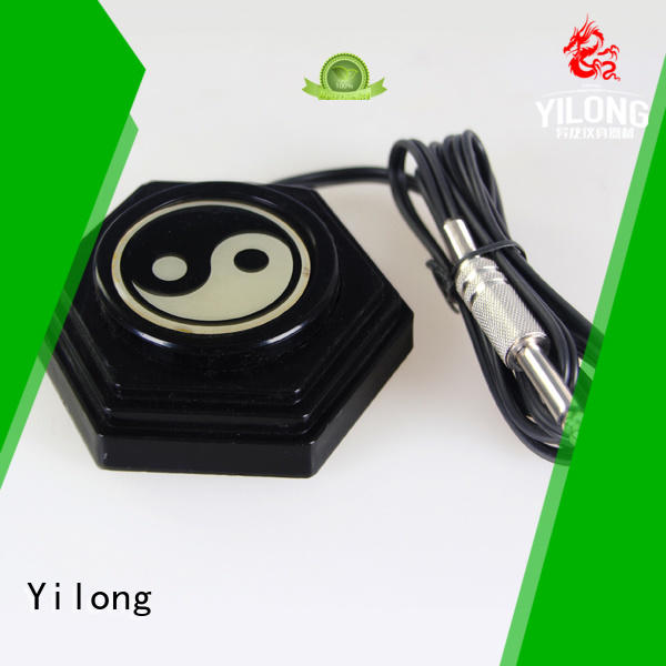 Yilong tattoo footpedal manufacturers for tattoo power supply