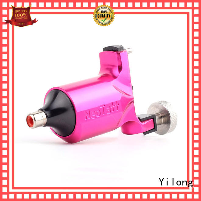 Yilong professional rotary works tattoo machine company for coloring
