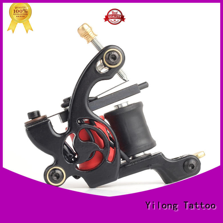 Yilong fast speed copper tattoo machine factory for tattoo machine