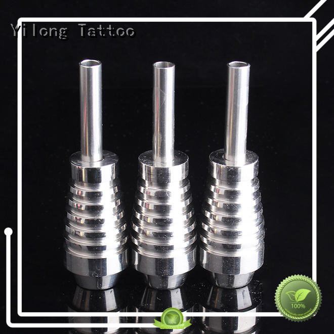 Wholesale tattoo tubes and grips stainless manufacturers for tattoo machine grip