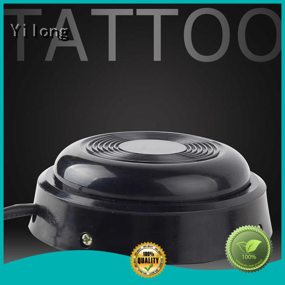 Yilong red tattoo pedal factory for tattoo