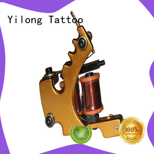 Yilong love silent tattoo machine supply for tattoo