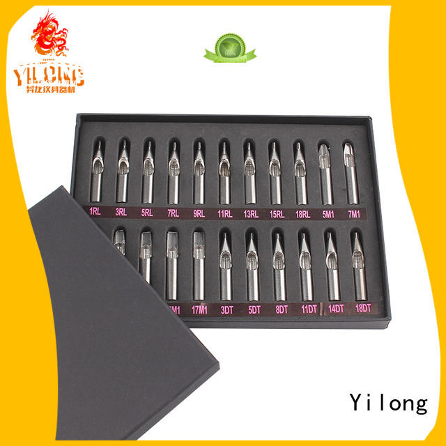 Yilong Best stainless steel tattoo tips suppliers for tattoo machine grip