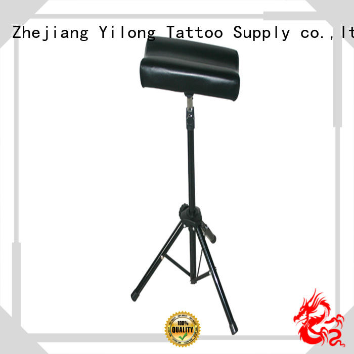 Yilong easily adjustable  tattoo arm leg rest for sale for tattoo power supply