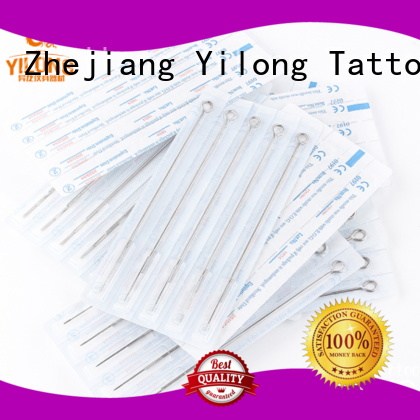 Yilong Wholesale tattoo disposable needles company for tattoo machine